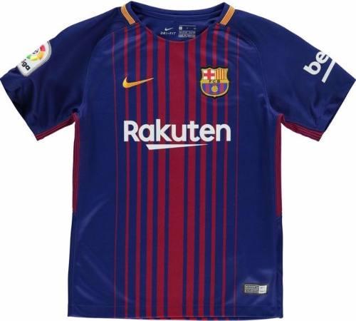Jersey Playera Nike Del Barcelona De Local Para Niños