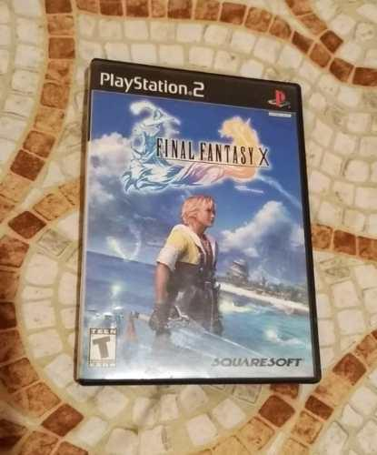 Juego Final Fantasy X Para Ps2