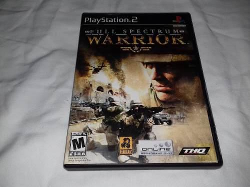 Juego Full Spectrum Warrior Sony Ps2