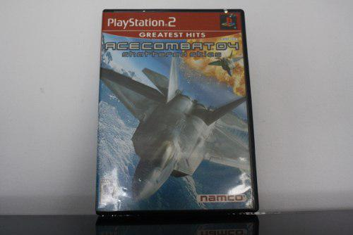 Juego Para Ps2, Ace Combat 4: Shattered Skies