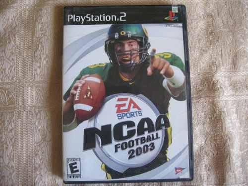 Juego Playstation 2 Ncaa Football 2003