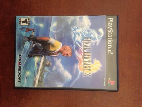 Juego Playstation Ps2 Final Fantasy X. Original