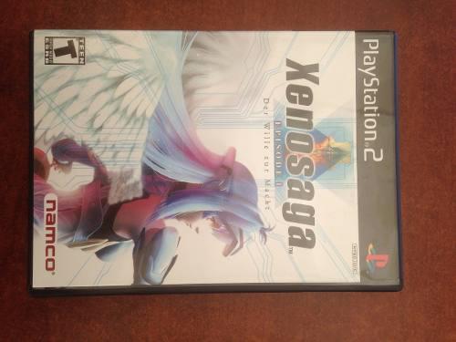 Juego Playstation Ps2 Xenosaga Episode 1 Original