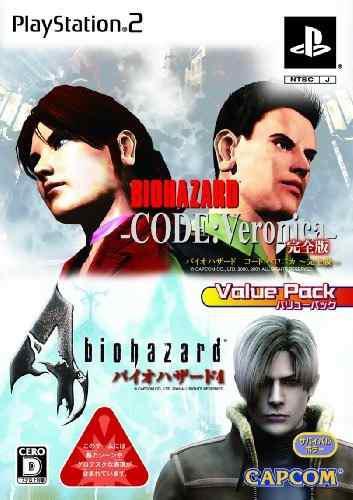Juegos,biohazard Código Veronica Biohazard 4 (value Pack..