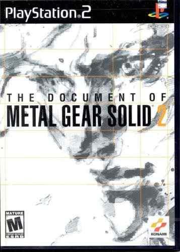 Juegos,metal Gear Solid 2 El Documento
