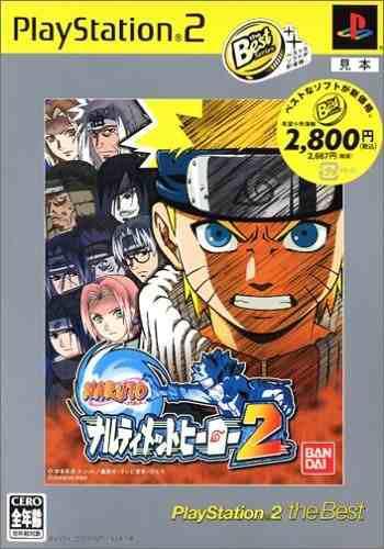 Juegos,naruto Narutimett Hero 2 (playstation2 El Mejor)..
