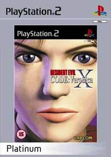 Juegos,resident Evil Código Veronica X - Platinum (ps2)..