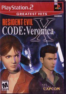 Juegos,resident Evil Código Veronica X - Playstation 2..