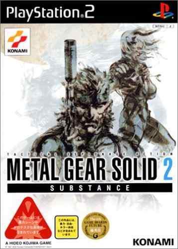 Juegosmetal Gear Solid 2 Sustancia Importación De Japón..