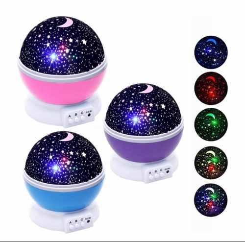 Lampara Proyector De Estrellas Y Luna Colores Envio Gratis