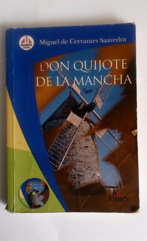 Libro Don Quijote de la Mancha Editorial Chilena Andres