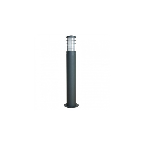 Lámpara De Piso Mini Poste Baliza 65cm Aluminio Calux
