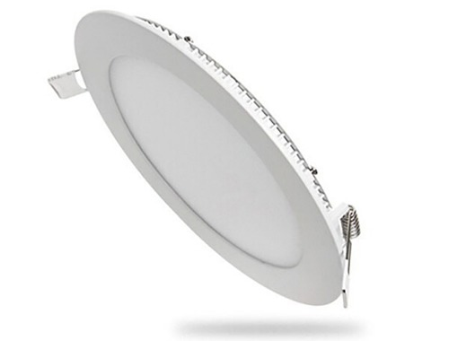 Luminario Led Para Empotrar 12w Megaluz Luz Blanca