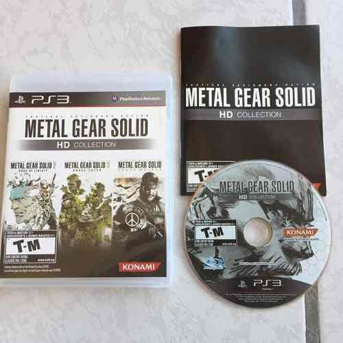 Metal Gear Solid Hd Collection Juegazo Para Tu Ps2 Mgs3