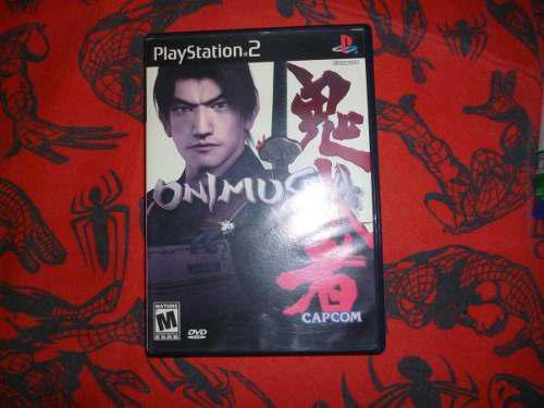 Onimusha Warlords Juego De Ps2 Sony