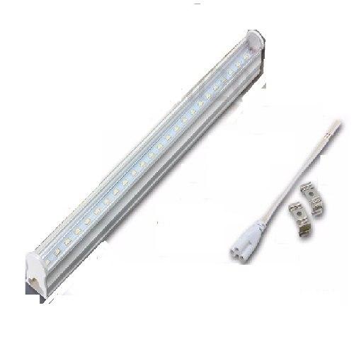Paq 3 Tubos Doble Led 2.40 Mts T8 Canaleta Plástico 48w 240
