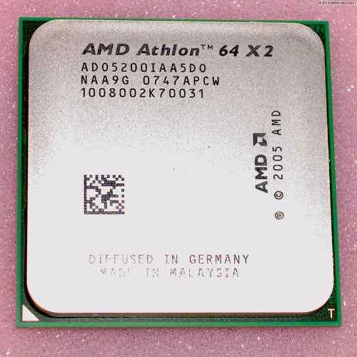 Procesador Amd Athlon 64 X2 5200+ A 2,7 Ghz De Doble Núcleo