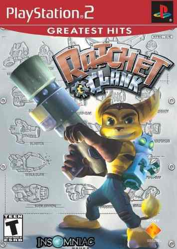 Ratchet Clank Juego De Ps2 --------------------------mr.game