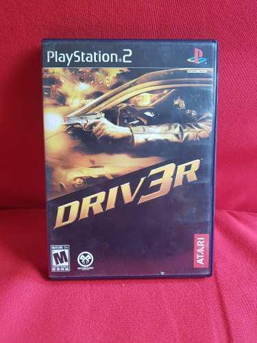 Vendo Mi Juego De Driver 3 Para Ps2