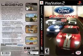 Videojuego Ford Ps2 En Buenas Condiciones Con Manuales