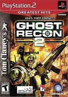 Videojuego Ghost Recon 2 Para Playstation 2