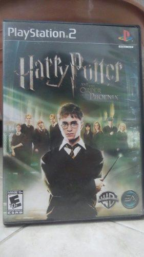 Videojuego Harry Potter Y La Orden Del Fénix Para Ps2