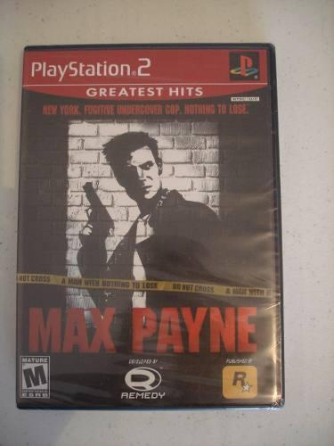 Videojuego Nuevo Max Payne (greatest Hits) Para Ps2