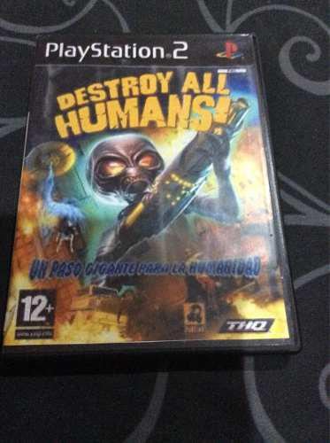 Videojuego Para Ps2 Destroy All Humans