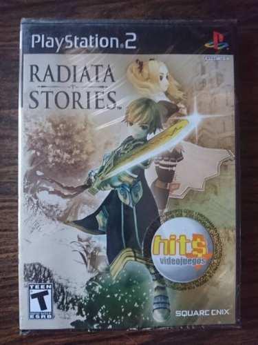 Videojuego Radiata Stories Ps2 (playstation 2)