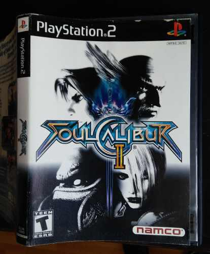 Videojuego Soulcalibur Ii Para Ps2 Playstation 2 Slim Fat