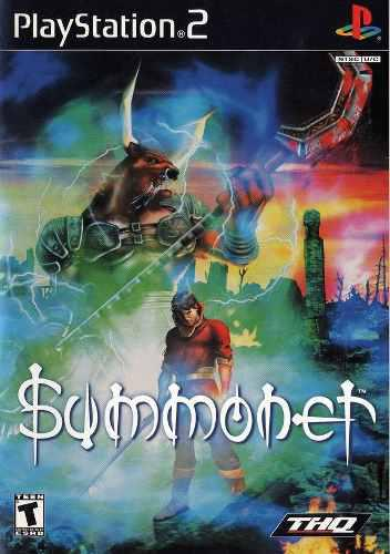 Videojuego Summoner Para Play 2