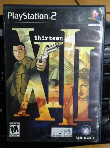 Videojuego Xiii Para Ps2 O Playstation 2 Slim Fat