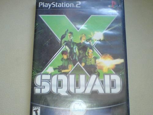 X Squad Juego De Play 2 Slim O Fat Original Algo Raro