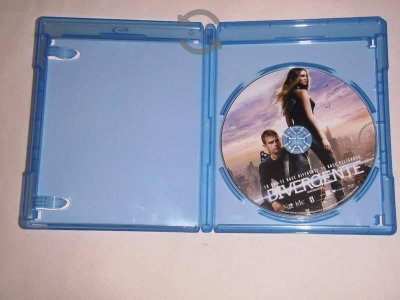 Blu-ray Divergente Lo que te hace diferente