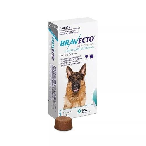Bravecto Para Perro De 20 A 40 Kg - Envío Gratis