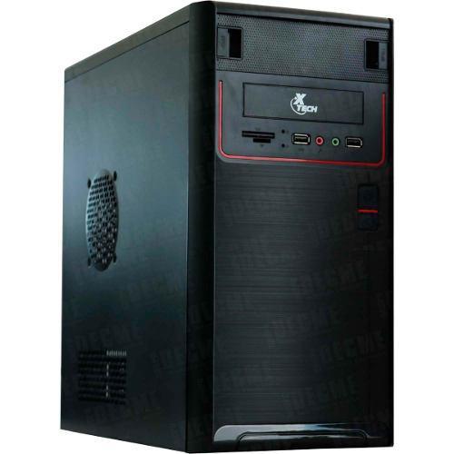 Gabiente Pc Xtech Fuente 600w Micro Atx Xtq-211