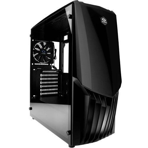 Gabinete Gamer Raidmax Gama A18tb Cristal Templado Atx Negro
