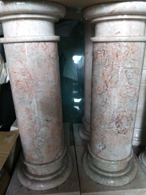 Lote de columnas de marmol decorstivas !!!