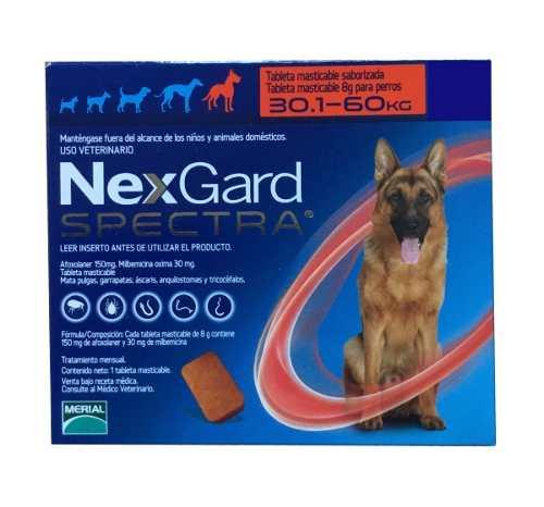 Nexgard Spectra 3 Tabletas 30 A 60kg