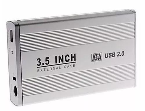 Remate !! Case Gabinete Sata Aluminio Disco Duro 3.5 2tb