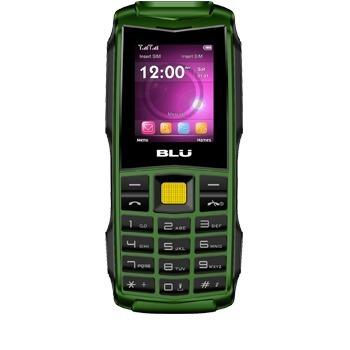 Telefono Celular De Uso Rudo Con Lampara Led Blu Flash Libre