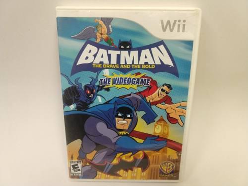 Batman The Brave And The Bold The Videogame Wii Wiiu Juegazo