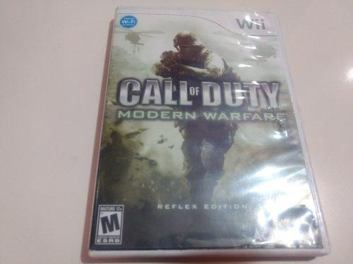 Call Of Duty Modern Warfare Nintendo Wii