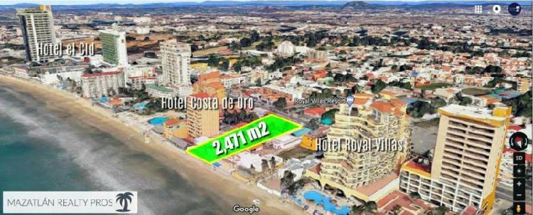 Excelente Terreno en Venta Frente al Mar en la Zona Hotelera