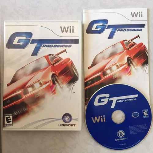 Got Pro Series Juegazo Completo Para Tu Wii Chécalo