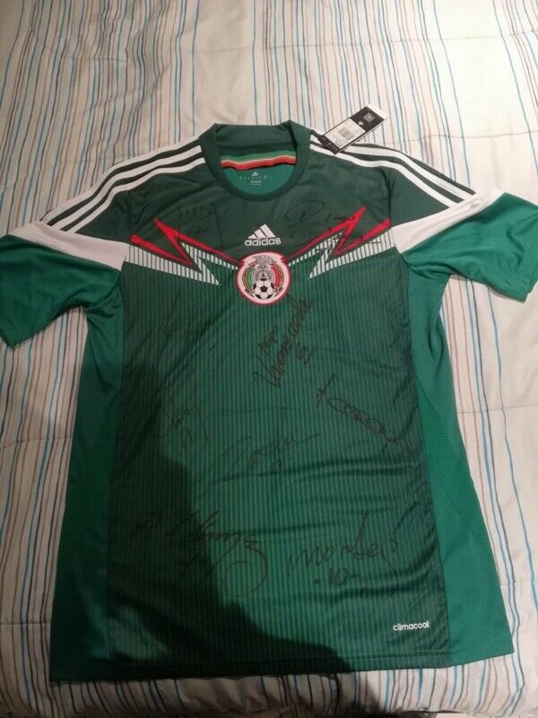 Jersey Selección Mexicana autografiado
