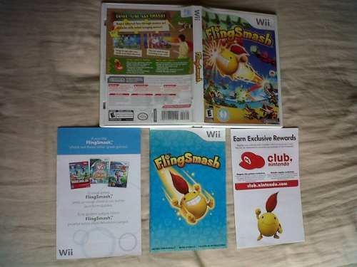 Juego Fling Smash Para Nintendo Wii
