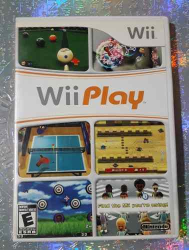 Juego Wii Play Para Nintendo Wii O Wii U Usado Barato