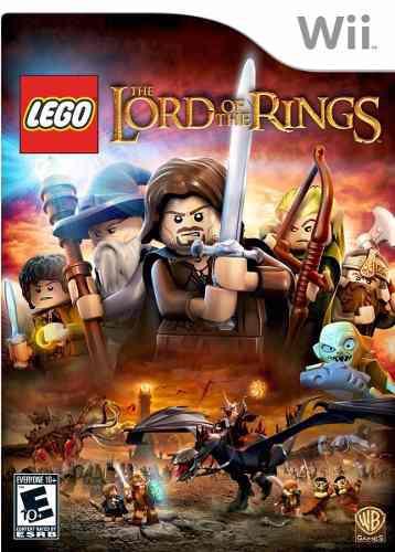 Lego El Señor De Los Anillos Wii Nuevo