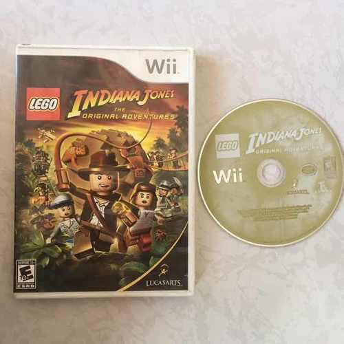 Lego Indiana Jones Juegazo Para Tu Wii Chécalo